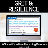 Grit, Mistakes & Resiliency Activities | SEL | Google Slides