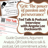 Grit Podcast and NPR Interview Guide and Activity