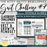 Grit Worksheet / Grit Activity / Growth Mindset Activities / Growth Mindset FREE