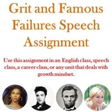Grit and Famous Failures Speech Assignment