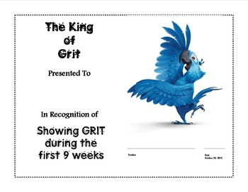 Grit awards