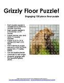 Grizzly Bear 100 Piece Floor Puzzle