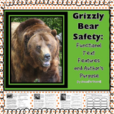 Grizzly Bear Safety: Functional Text Features and Author's