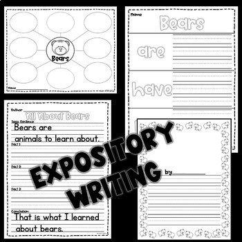 Grizzly Bears Nonfiction Guided Reading Comprehension and Fluency Passages