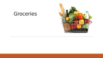 Groceries ESL Powerpoint
