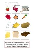 German Groceries and Flavours Worksheet - 3 activities