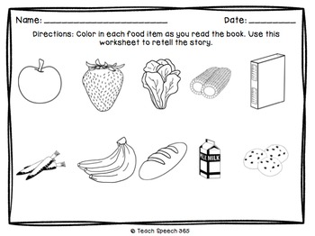 Grocery Games Reverse Interactive Book