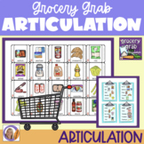 Articulation Game for speech and language therapy: Grocery