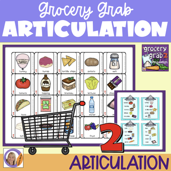 Articulation Game:Grocery Grab Shopping game #2