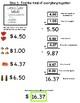 Grocery Math - Budgeting a List - Errorless