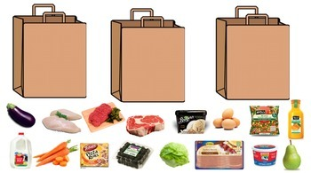 Grocery Shopping: Learning How to Bag and Sort Groceries. Great for Life Skills!