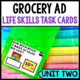 Grocery Shopping - Life Skills - Special Education - Calculating Prices - Math