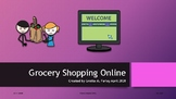 Grocery Shopping Online AAC Smarty Symbols