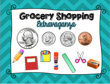 Grocery Shopping Practice with Money