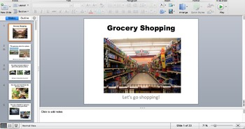 Grocery Shopping Review