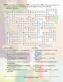Grocery Shopping Spanish Crossword Puzzle