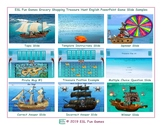 Grocery Shopping Treasure Hunt Interactive English PowerPoint Game