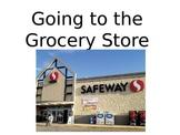 Grocery Social Story Editable