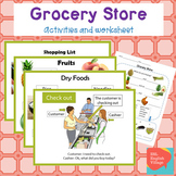 Grocery Store / Supermarket ESL food vocab, dialogue Power
