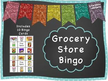 Grocery Store Bingo