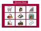 Grocery Store Bingo! Multiple Boards [speech therapy and autism]