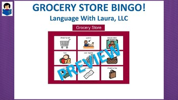 Grocery Store Bingo!