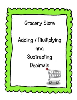 Grocery Store Challenge