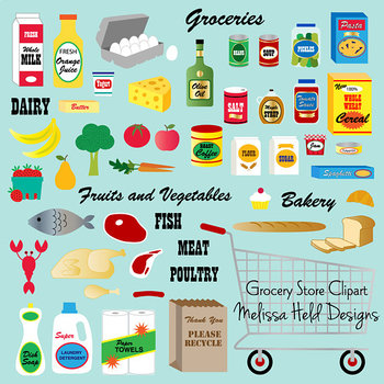 Clipart: Grocery Store Clipart Clip Art