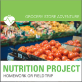 Health Class-Nutrition Unit: Grocery Store Project