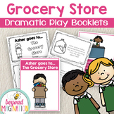 Grocery Store Dramatic Play Fictional Booklets