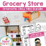 Grocery Store Dramatic Play Mini Bundle