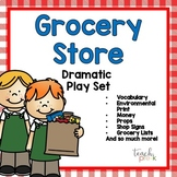 Grocery Store Dramatic Play:  Signs, Props, & MORE!