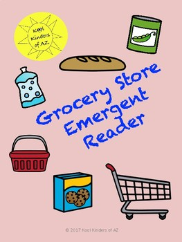 Grocery Store Emergent Reader