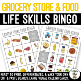Grocery Store & Food BINGO Game