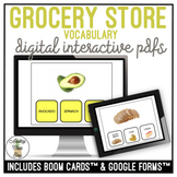 Grocery Store Food Functional Reading Digital Activity Life Skills