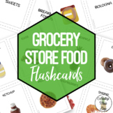 Grocery Store Foods Flashcards Visuals & Sorting