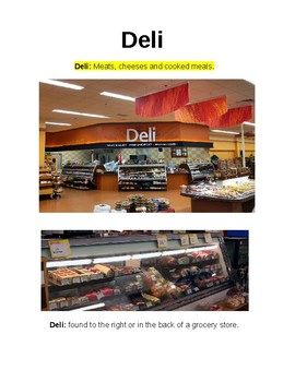 Grocery Store Introduction to sections
