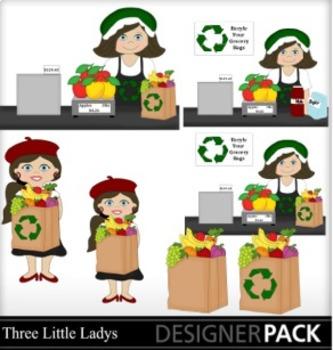 Grocery Store Ladies 3