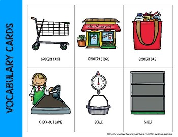 Grocery Store: Lower-Level Language Unit