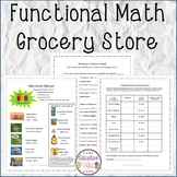 FUNCTIONAL MATH Grocery Store