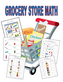 Grocery Store Math- Special Education Money Math