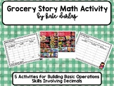 Grocery Store Math Activity
