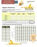 Grocery Store Math:  Algebra Readiness - Basics of Linear