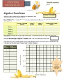 Grocery Store Math:  Algebra Readiness - Basics of Linear