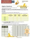 Grocery Store Math:  Algebra Readiness:  The basics of lin