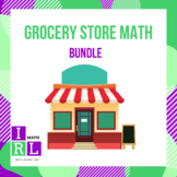 Grocery Store Math Bundle