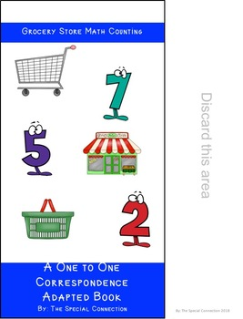 Grocery Store Math Counting: Adapted Book