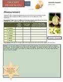 Grocery Store Math:  Measurement: Ounces vs pounds, Mass v