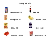 Grocery Store Ad Math Worksheets 2