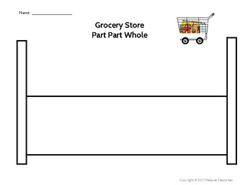 Grocery Store Part Part Whole